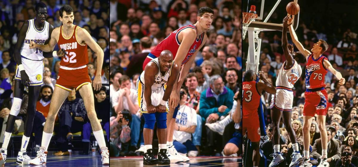 Cei mai inalti jucatori din NBA din lume