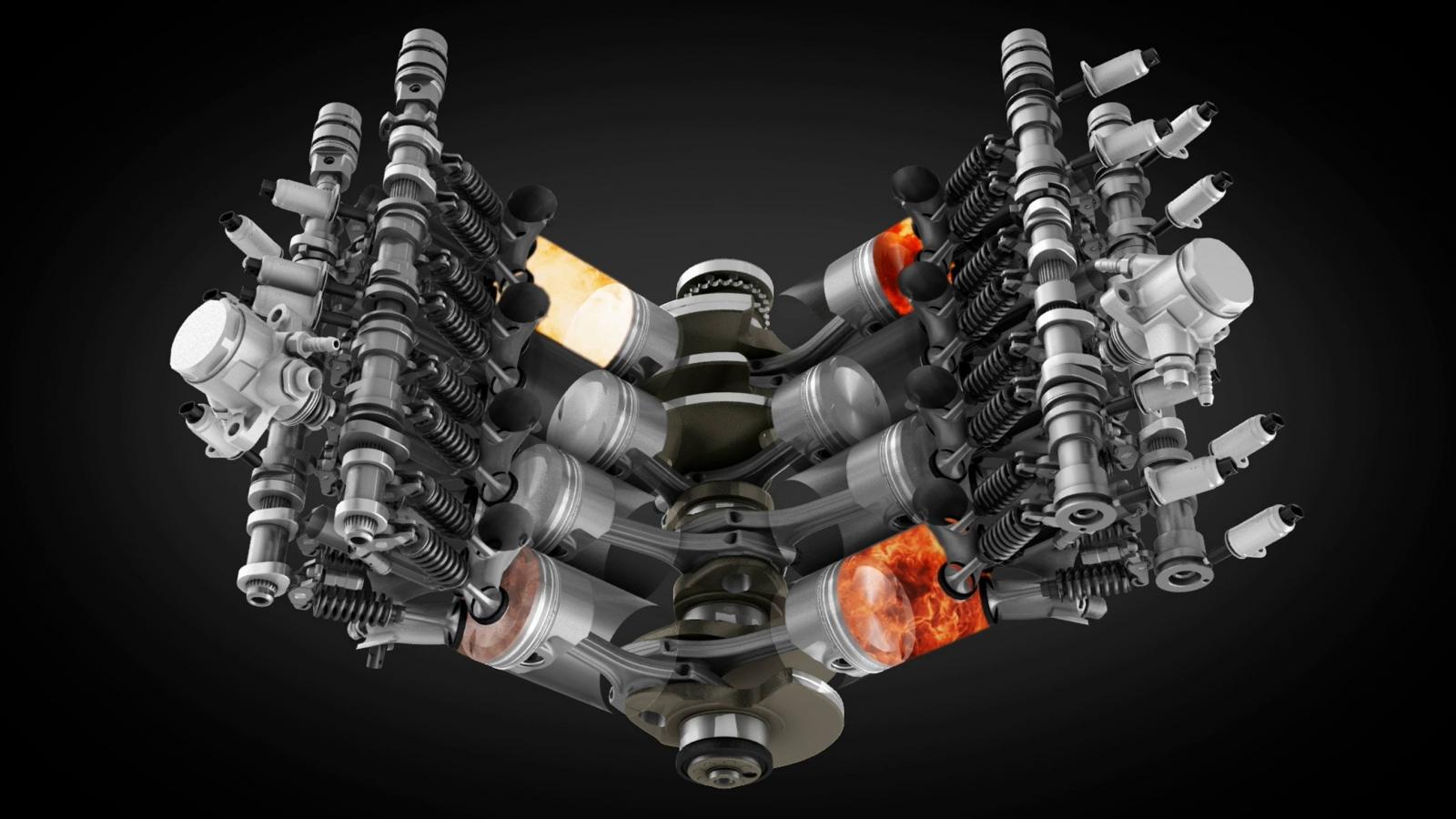 Cum functionaza motorul cu ardere interna