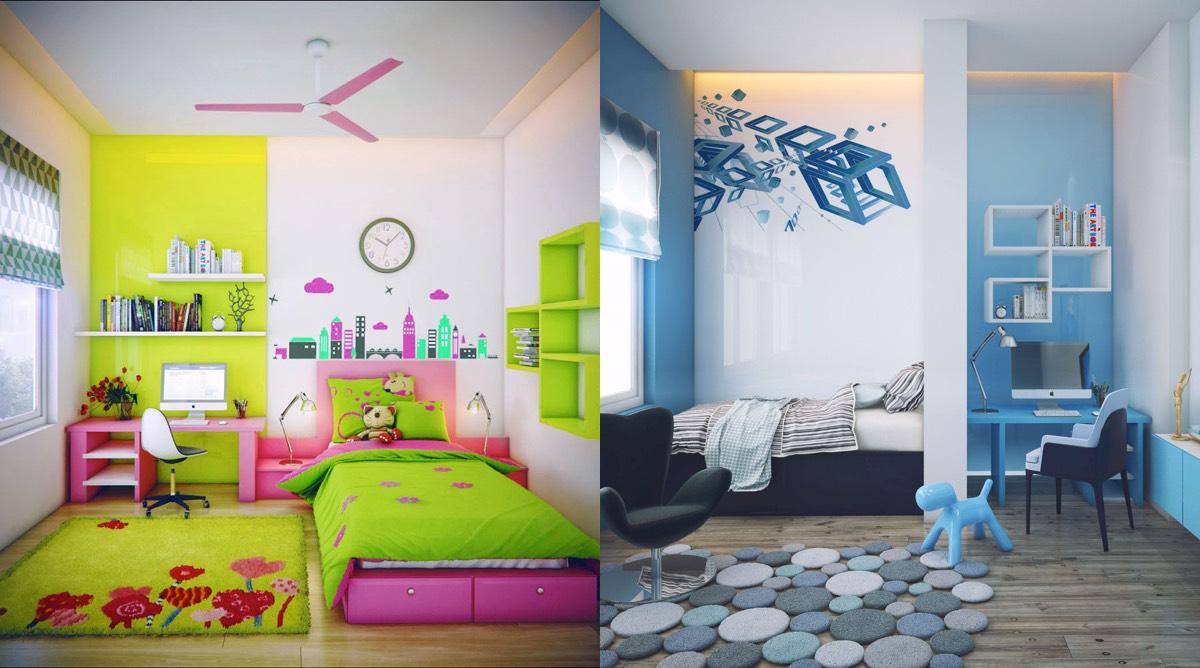 Sfaturi despre cum sa decorezi camera copiilor