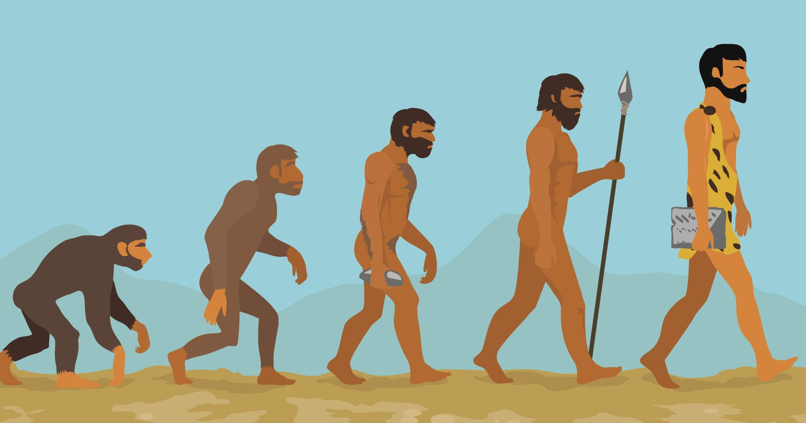 Evolutia omului – Momentele care au modelat viata moderna