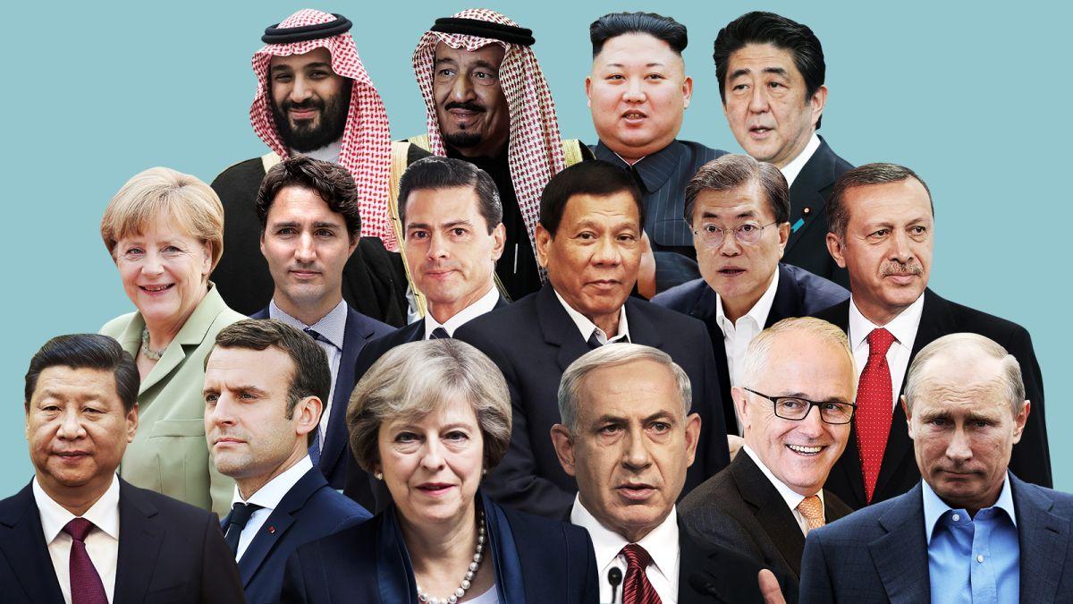 Lideri mondiali cu istorii incredibile (si neasteptate)