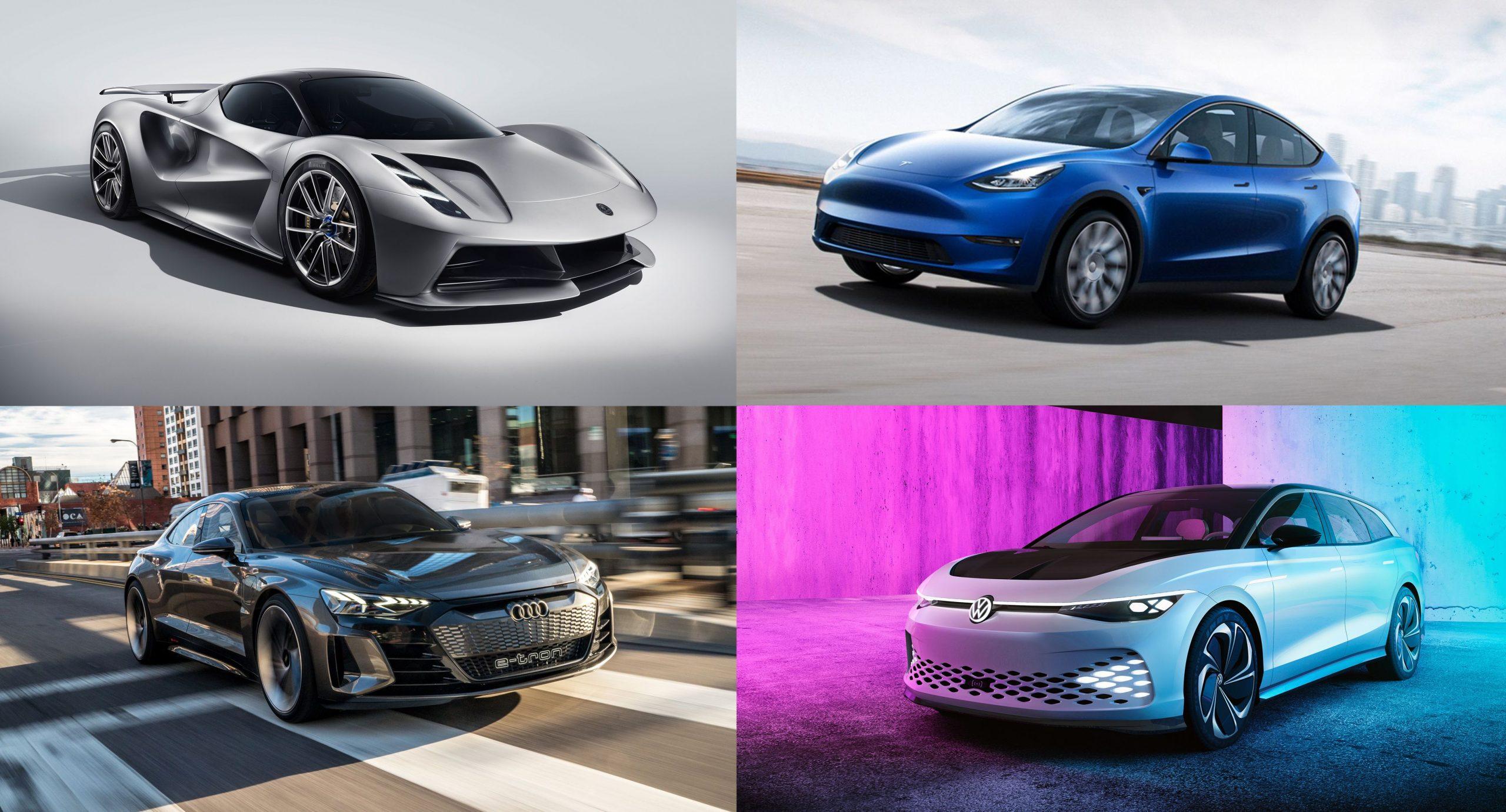 Cele mai rapide masini electrice din lume