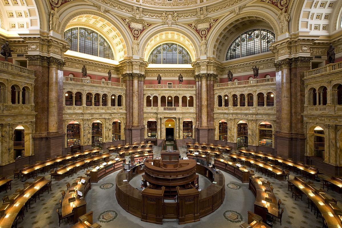 Top 8 cele mai mari biblioteci din lume
