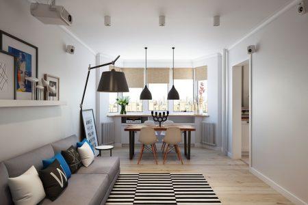 Idei de proiectare si decorare a apartamentelor mici