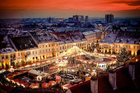 Piata de Craciun din Sibiu suspendata din cauza crizei Covid-19